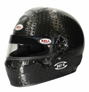Bell Rs7-k Carbon 7 1/4 Helmet Snell Sa2020 Free Shipping