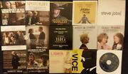 15x Fyc Dvd Lot- For Your Consideration Press Promo Most Feature Films Vg Fr/shp