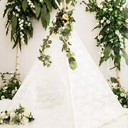 Huge Teepee 85 Inch Height Luxury Lace Teepee Tent Super Large New Version