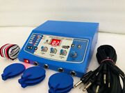 New Electrotherapy Physiotherapy 4 Channel With 8 Reusable Carbon Electrode Ohna