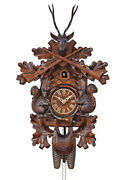 Herrzeit By Adolf Herr Cuckoo Clock - Squirrels Large Ah 586/1 8t New