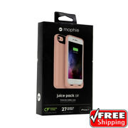 New Mophie Juice Pack Air Battery Case Apple Iphone Se 2nd Gen 7 And 8 Rose Gold