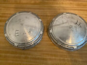 Dodge Plymouth Dog Dish Hubcaps Oem Mopar 3461450 69 -74 New Old Stock Set 2