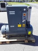 Used 5 Hp Atlas Copco Gx4 With Twin Tower Dryer