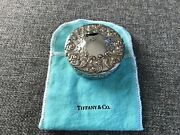 And Co Sterling Silver Repousse Trinket Box