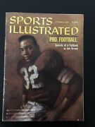 9/26/1960 Sports Illustrated Jim Brown Cleveland Browns Hoffirst Si Coverrare