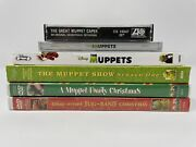 A Muppet Family Christmas, Jug Band Christmas, The Muppets Movie Tv Show Dvd Lot
