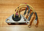 Omc Johnson Evinrude Outboard Rectifier 4 Wire 9.9 15 20 25 28 30 35 40 45 55 Hp