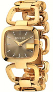Ya125408 G- 32mm Womenand039s Gold-tone Stainless Steel Watch Sold Out