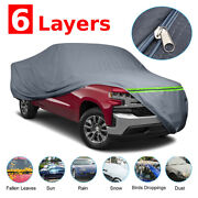 Us Full Truck Pickups Car Cover Tough Waterproof Sun Uv Rain Snow Dust Resistant