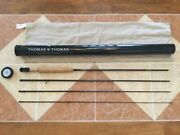 Thomas And Thomas Lps Ii 9ft 4wt 4pc 904-4 490 Fly Fishing Rod For 4wt Line Reel