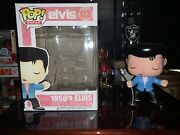 Funko Pop 1950and039s Elvis Presley 02 Rare Figure Collection Vinyl Doll Model Toys