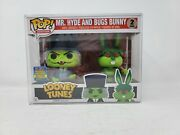 Funko Pop Looney Tunes Mr. Hyde And Bugs Bunny 2-pack Sdcc Toy Tokyo 2017 Le850
