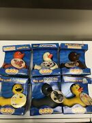 Rubba Ducks Rubber Duck Characters Lot Of 6 Nib Rare Hard To Find. Collectable
