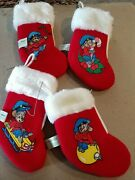 1986 An American Tail Mini Christmas Stocking Ornaments Mcdonalds Toy Sears