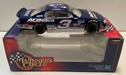 1999 Dale Earnhardt Sr And Dale Earnhardt Jr Dual Signed Ac Delco 1/24 Diecast Car