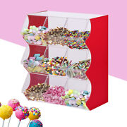 Stacking Pick And Mix Dispenser Wedding Acrylic Sweet Display Stand Candy Box