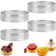 Tower Ring Bake Mould Stainless Steel Diy Round Hole Kitchen Tool Pastry Mold