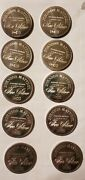 Johnson Matthey 1 Oz Silver Proof Rounds Lot Of 10 Freedom Series