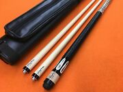 Schuler Carom Cue Cb18 With 2 Shafts And Case.