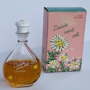 Rare 60andrsquos Vintage Avon Daisies Wonand039t Tell Cologne In Box Excellent Condition