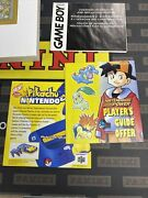 Pokemon Gold Version Nintendo Gameboy Authentic Cib Complete In Box Nm Mint Game