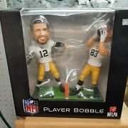 Aaron Rodgers And Jeff Janis Dual Packers Bobble Head Hail Mary 2 Edition New