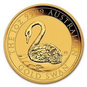 2021 Australia 1 Oz Gold Swan Only 5000 Minted Worldwide Brilliant Uncirculated