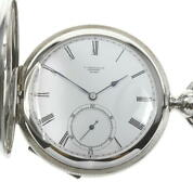 Longines 840.8022 Small Seconds Cal.840 Hand Winding Menand039s Pocket Watch_609156
