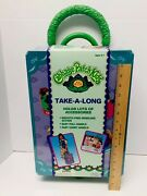 Vintage Cabbage Patch Kids Suitcase Rolling Luggage Tara Toys