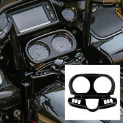 Instrument Housing Fit For Harley Road Glide 2015-2021 16 17 18 19 Black Earth