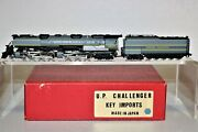 New N Scale Brass Key Imports Union Pacific Up Two Tone Gray Challenger - Japan