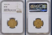 1874-s Weak S Liberty 5 Gold Half Eagle Ngc Vf 35 Rare Super Fast Shipping