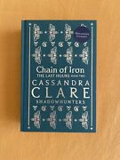Waterstones Exclusive Chain Of Iron Gold Foiled Stamp Signed Cassandra Clare