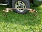 Original Unrestored Oem Convertible Top Bows Frame For Triumph Tr3 Tr3a And Tr3b