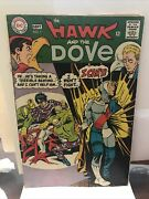 The Hawk And The Dove 1 Aug-sep 1968, Dc Vg+/f- 12 Cent Issue Ditko