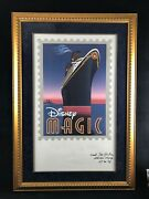 Rare Disney Cruise Line Signed And Numbered Litho