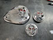 Zambini Brothers Vintage Chopper Parts Chrome Sands Cover Points Cover Gas Cap