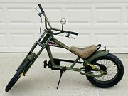Vintage Schwinn Orange County Choppers 20 Sting Ray Squadron Bike And Accessories