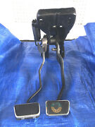 1965-66 Mustang Brake And Clutch Pedal Set - Rebuilt Concours Quality Disc/drum