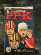1968 Punt Pass And Kick Ppandk Book Pamplet Brochure