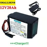 Brand New Portable Battery Pack 12v 20ah With Pcb + High Quality Charger 3a
