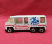 Rare Hot Wheels 1976 Redline Gmc Motor Home White Greenwood Used Collectable
