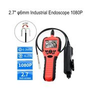 6mm 2.7inch 1080p 180anddegrotation Pipe Industrial Endoscope Video Borescope Camera