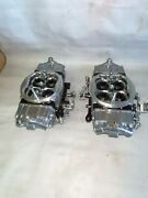 Quick Fuel Holley 1050 Hp 4150 Double Pumper Annular Boosters Billet Base And Met