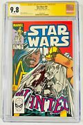Han Solo Star Wars 79 Cgc 9.8 Signed Harrison Ford Signature Series Comic
