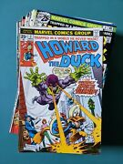 Howard The Duck 2 - 31 Plus King-size 1 And Giant-size Man-thing 4 Vf - Nm