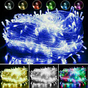10-1000 Leds Christmas Fairy String Lights Wedding Xmas Party Holiday Tree Lamps