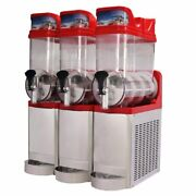 Chinese Style Slush Machine High Quality Stainless Steel Red Ice Melting Device