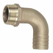 Perko 0063dp5plb 3/4andquot Pipe To Hose Adapter 90 Degree Bronze